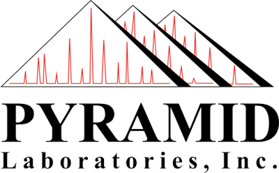 Pyramid Laboratories, Inc. Sticky Logo Retina